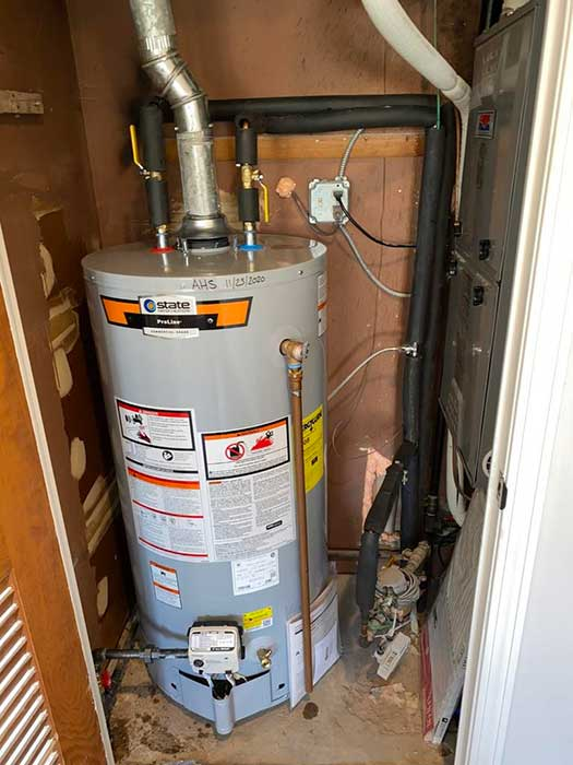 After Water Heater Replacement